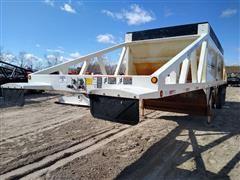 2011 R-Way T421-TRI-AIR XD Cross-Gate Tri-A Belly Dump Trailer