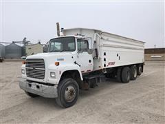 1995 Ford LNT9000 Tri/A Grain Truck w/ Spudnik Box