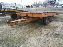 1972 Transport Trailers XLT 20 T/A Flatbed Trailer