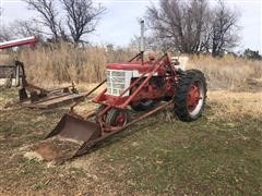 International M 2WD Tractor W/Loader