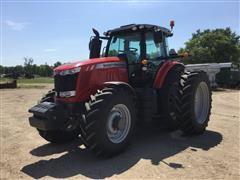 2015 Massey Ferguson MF7720 MFWD Tractor