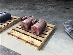 Leeson 10 HP Grain Bin Fan/Unload Motors