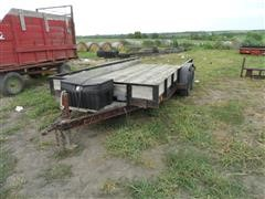 1995 Eagle Flatbed Utility/Car Trailer