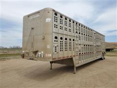 1998 Wilson PSDGL-302 T/A Livestock Trailer