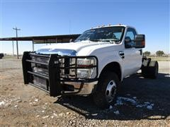 2008 Ford F350 XLT Super Duty 4x4 Cab & Chassis