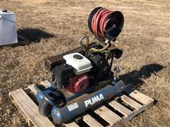Puma Gas Powered Portable Air Compressor