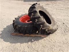 Kubota 13.6-24 & 13.6-24 Tires W/8 Bolt Rim