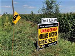 Tract 4:  80.67+/- Acres Butler County, Nebraska