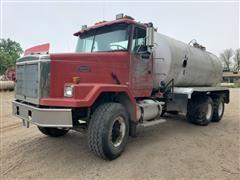1989 White GMC ACL64 T/A Liquid Manure Truck
