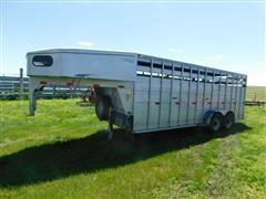 2005 Titan Gooseneck T/A Livestock Trailer