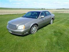 2004 Cadillac Deville 4 Door Car