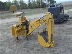 Davis D100 Backhoe Attachment For Skid Steer