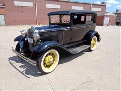 1931 Ford Model A Antique 2 Door Coupe