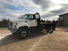 2000 GMC C7500 Flatbed Truck