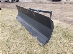 2020 Mid-State 8' Wide Dozer Blade Skid Steer Attachment