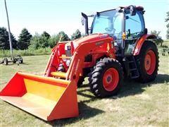 2013 Kubota M110GX MFWD Tractor W/Loader