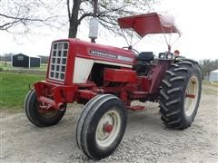 1974 International 574 Row Crop 2WD Tractor