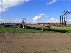 1976 Transcraft 40'/36' T/A Hay Doubles With S/A Dolly