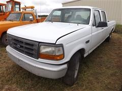 1997 Ford F350 XL Crew Cab Pickup For Parts