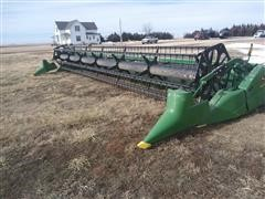 2009 John Deere 630F 30' Flex Head