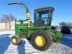 John Deere 5830 Forage Harvester