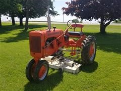 Allis-Chalmers 2WD Tractor W/Mower