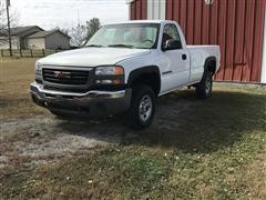 2003 GMC Sierra 2500 HD 2WD Pickup (NO BRAKES)