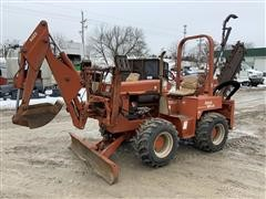 1999 DitchWitch 5700DD 4WD Trencher W/Backhoe & Blade