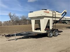 2006 Friesen 240 Seed Express Seed Tender On T/A Trailer