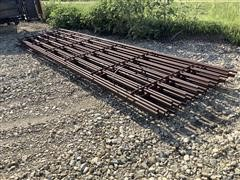 Linn Post & Pipe Continuous Fence Panels