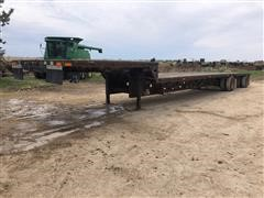 1998 Transcraft DTL2000 48x102 Spread T/A Drop Deck Trailer