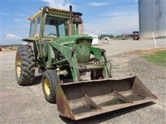 1967 John Deere 4020 2WD Tractor With Loader
