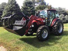 2015 Case IH Farmall 95C MFWD Tractor
