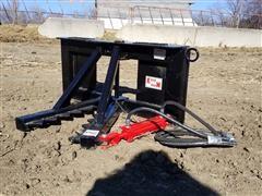 2019 Industrias America Skid Steer Mount Easy Man Tree And Post Puller