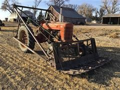 1941 Farmall M Wide Front 2WD Tractor W/Loader