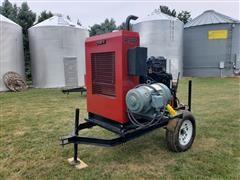 2012 Case P140 Diesel Power Unit W/Generator