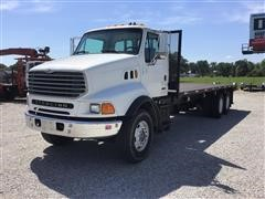 2001 Sterling LT8500 T/A Flatbed Truck