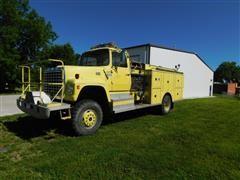 1976 Ford L900 4x4 Fire Truck