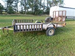 2009 H & H Two Wheel Utility Trailer