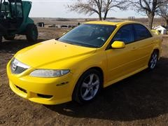 2003 Mazda 6S 4 Door Sedan Car