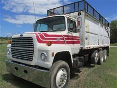 1985 Ford LNT 9000 Tri/A Grain Truck