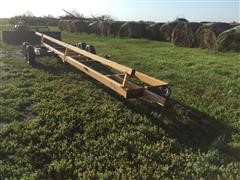 J Craft TTH-30 T/A Header Trailer