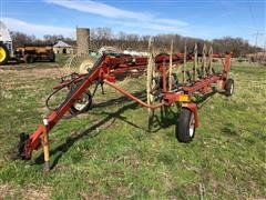 Hesston 3983 Pull-Type 12 Wheel Rake