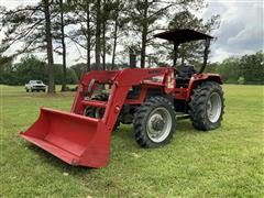 2010 Mahindra 5530 MFWD Tractor W/Front-End Loader