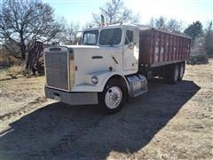 1988 Freightliner FLC 120 T/A Grain Truck