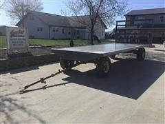 Fiberglass Flatbed Feeder Wagon