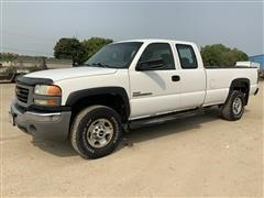 2006 GMC Sierra 2500HD 2WD Extended Cab 4-Door Pickup