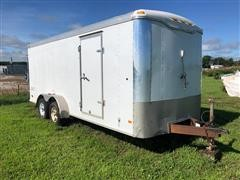 2006 Haulmark Bumper Pull T/A Enclosed Trailer