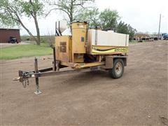 2009 Ring-O-Matic 275 Vacuum Excavation Machine & Trailer