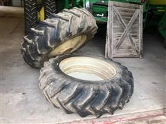 Goodyear 18.4x38 Pair Of Tractor Duals